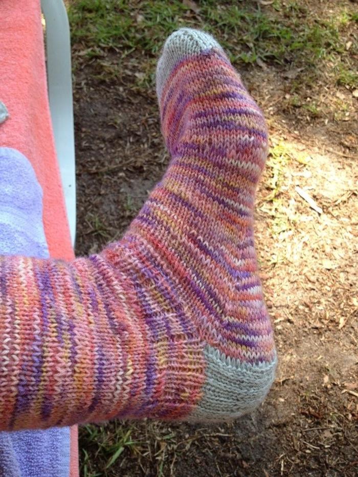 Almost summer socks
